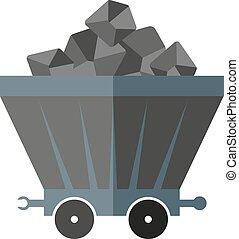 carvão, vagão