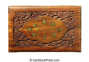 carve wood box