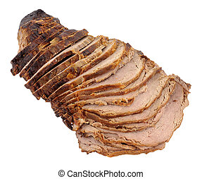 Carved Roast Beef Joint