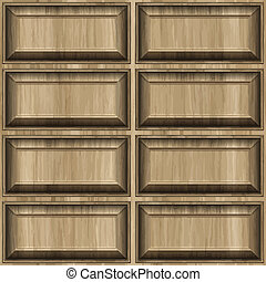 carved wood pattern background