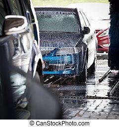 carwash, carros