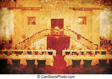 casório, banquete