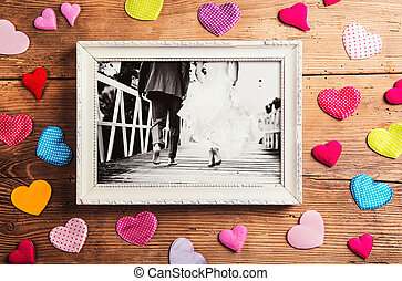 casório, fotografias