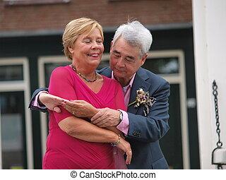 casório, pessoas anciãs