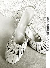 casório, sapatos