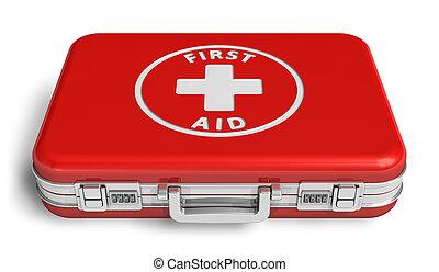 cas, aide, rouges, premier