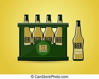 cas, bière