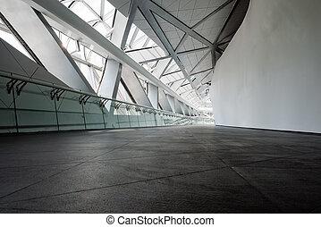 casa ópera, modernos, corredor