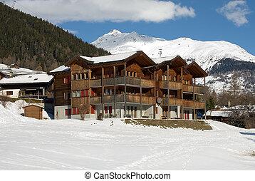 casa, alpino