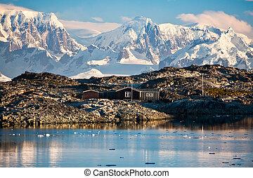casa, antártica