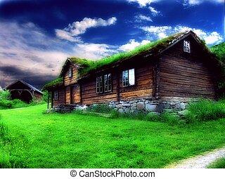 casa, antigas