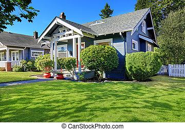 casa, apelación, freno, exterior