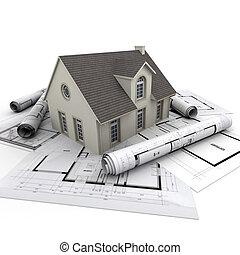 casa, arquitectura