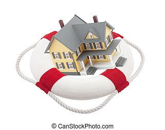Casa proteggere concetto assicurazione proteggere for Concetto casa com