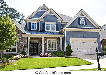 casa azul, apartadero, piedra