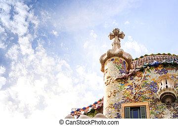 Immagini di di stile toro souvenir gaudi spagnolo for Numeri di casa in stile spagnolo