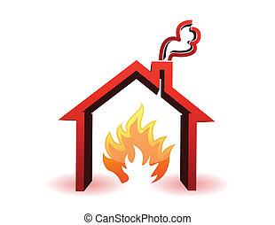 casa burning