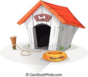 casa, cão