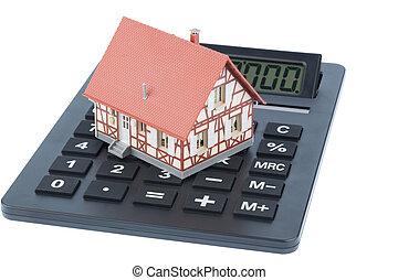 casa, calculadora