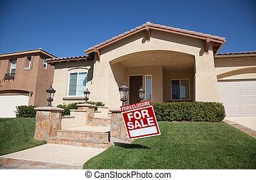 casa casa, venta, ejecución hipoteca, señal