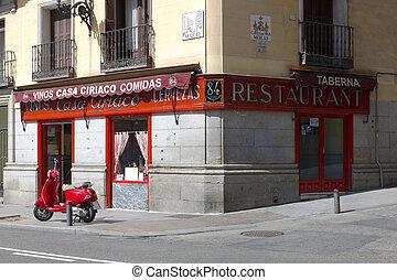 Casa Ciriaco. Madrid. Spain - La Casa Ciriaco became famous...