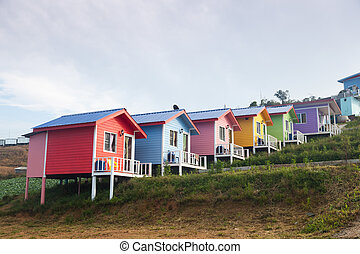 casa, colorito