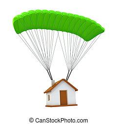 Paracadute assicurazione disegni cerca clip art for Aprire piani casa concetto