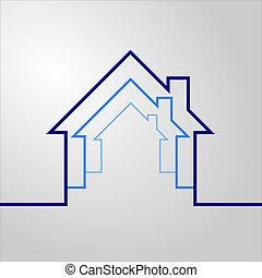 casa, concetto