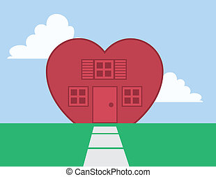 casa, coração