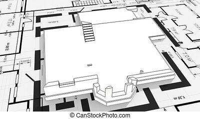 casa, costruzione, Residenziale