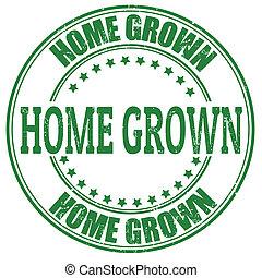 casa cresciuta, francobollo