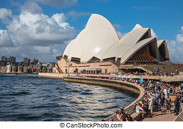 casa de ópera, australia., sydney, sydney