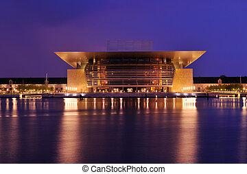 casa de ópera, copengagen