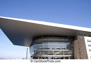 casa de ópera, moderno