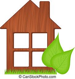 casa de madera, ecológico