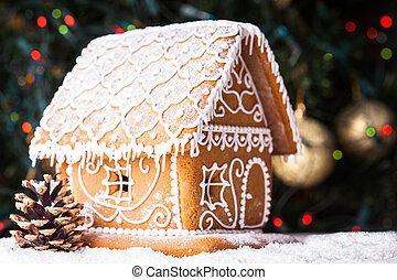 casa de pan de jengibre