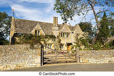 casa de piedra, tradicional, campden, cotswold, lasca