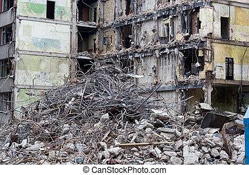 casa, demolito