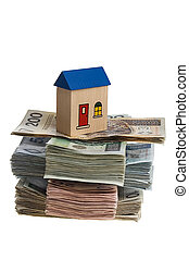 casa, dinheiro