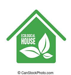 casa, ecologico