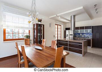 casa, elegante, -, nuovo, cucina