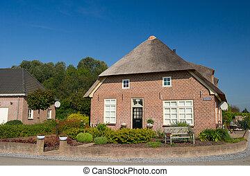 casa fattoria, tipico, olandese