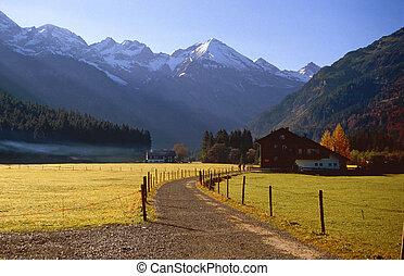 casa fattoria, valle
