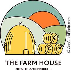 casa fazenda, logotipo