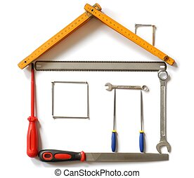 casa, ferramentas