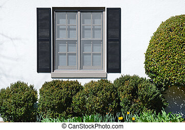 casa, finestra