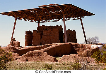 Casa Grande Ruins National Monument of the Pre-columbian ...