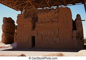 Casa Grande Ruins National Monument of the Precolumbian...