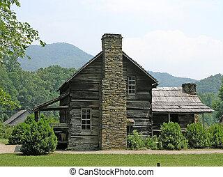 casa granja, 1800's