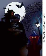 casa, halloween